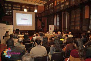 Vista del auditorio y los panelistas. Fuente: prensa SNC.