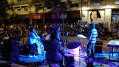 Actividad en calle Palma