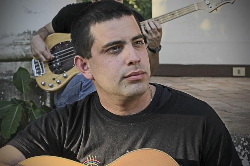 Jorge Bogarín, guitarrista.